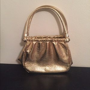 Handbags - *VINTAGE* Gold Evening Bag